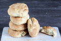 Yeast bread rolls Stock Photo