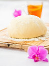 Yeast dough Royalty Free Stock Images