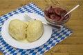 Yeast dumpling