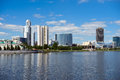 Yekaterinburg cityscape Royalty Free Stock Images