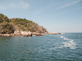 Yelapas western coastline view of yelapa jalisco mexicos Stock Photo