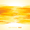 Yellow abstract bright colorful background digital painted brush Royalty Free Stock Photo