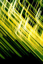 Yellow abstract streaks Royalty Free Stock Photos