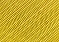 Yellow abstract striped pattern wallpaper background, gold paper texture with diagonal lines Royalty Free Stock Photo