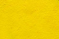 Yellow background on the cement wall