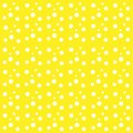 Yellow background white drops balls circles abstract pattern