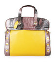 Yellow bag Royalty Free Stock Photo