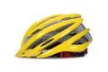 Yellow Bike helmet Royalty Free Stock Photo