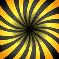 Yellow and black rays vector background Royalty Free Stock Image