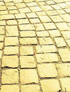 Yellow brick road Royalty Free Stock Image