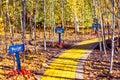 Follow the Yellow Brick Road Royalty Free Stock Photo