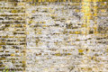 Yellow brick wall for backgrounds Royalty Free Stock Photo