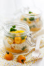 Yellow Bulgur Salad Royalty Free Stock Photo