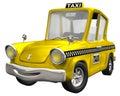 Yellow Cab Royalty Free Stock Photo
