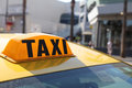 Yellow Cab In LA