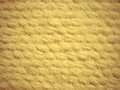 Yellow camel wool fabric texture pattern background taken closeup as Royalty Free Stock Images