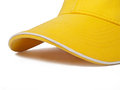 Yellow cap Stock Photo