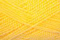Yellow clew wool as texture for backgrounds Royalty Free Stock Image