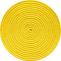 Yellow coil Stock Images