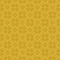 Yellow colors asian damask pattern korean traditional design series Stock Photography