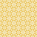 Yellow colors asian damask pattern korean traditional pattern d design series Stock Photography