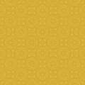 Yellow colors round grid pattern korean traditional design series Royalty Free Stock Photography