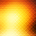 Yellow coral pink black rows of triangles background, square