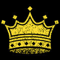 Yellow Crown Royalty Free Stock Photo