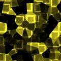 Yellow cubes texture