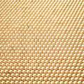 Yellow dotted pattern from the plastic pin toy selective focus Royalty Free Stock Photography