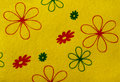 Yellow fabric texture background of fabrics bright colors of the fabrics Royalty Free Stock Photo