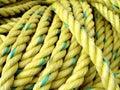 Yellow Fishing Rope Royalty Free Stock Photo