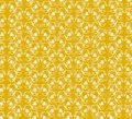 Yellow floral pattern Stock Image