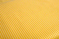 Yellow Gingham Background Stock Images