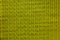 Yellow gold color tone woven fabric wallpaper Royalty Free Stock Image