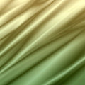 Yellow green background abstract waves illustration of wavy folds of silk texture satin Royalty Free Stock Photography
