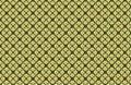 Yellow Green Bamboo Diamond Shape Abstract Geometric Pattern