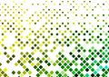 Yellow, green boxes patterned background design