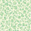 Vector seamless geometric pattern with shapes