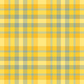 Yellow and green plaid Royalty Free Stock Image