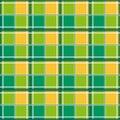 Yellow Green White Chessboard Background