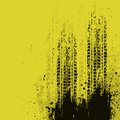 Yellow grunge background Royalty Free Stock Photography