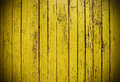 Yellow grungy wooden plank Royalty Free Stock Photo