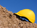 Yellow hardhat Royalty Free Stock Image