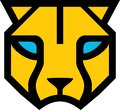 stock image of  Yellow head panther logo