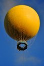Yellow Hot Air Balloon Stock Photos