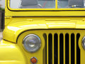 Yellow Jeep Willys Royalty Free Stock Images