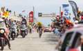 Yellow Jersey on Mont Ventoux - Tour de France 2013 Royalty Free Stock Photo