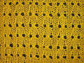 Yellow knitted abstract Stock Photos