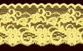 Yellow lace band Royalty Free Stock Photos